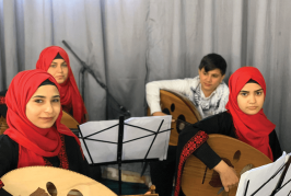 Music Enriches Refugee Camps